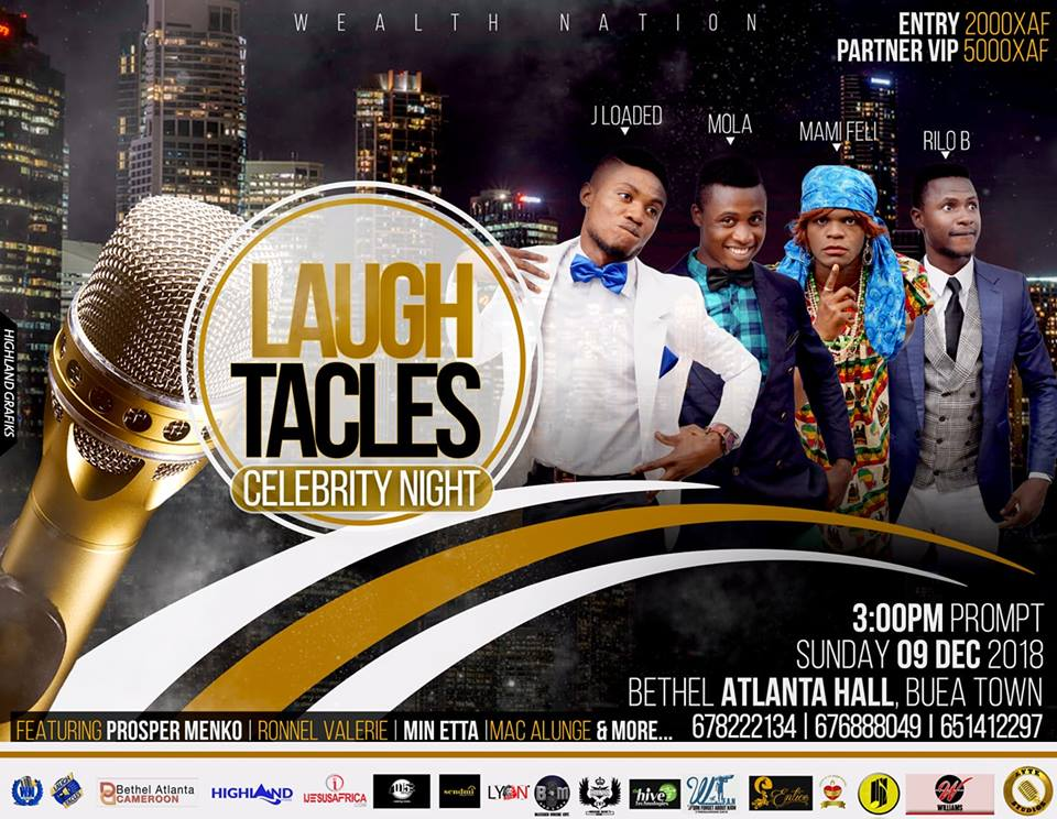 Laughtacles Celebrity Night