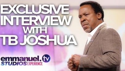 Exclusive Interview With TB JOSHUA