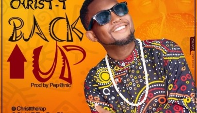Cameroonian gospel rapper Christ T Back up Wisdom Records Youtube is an afro trap