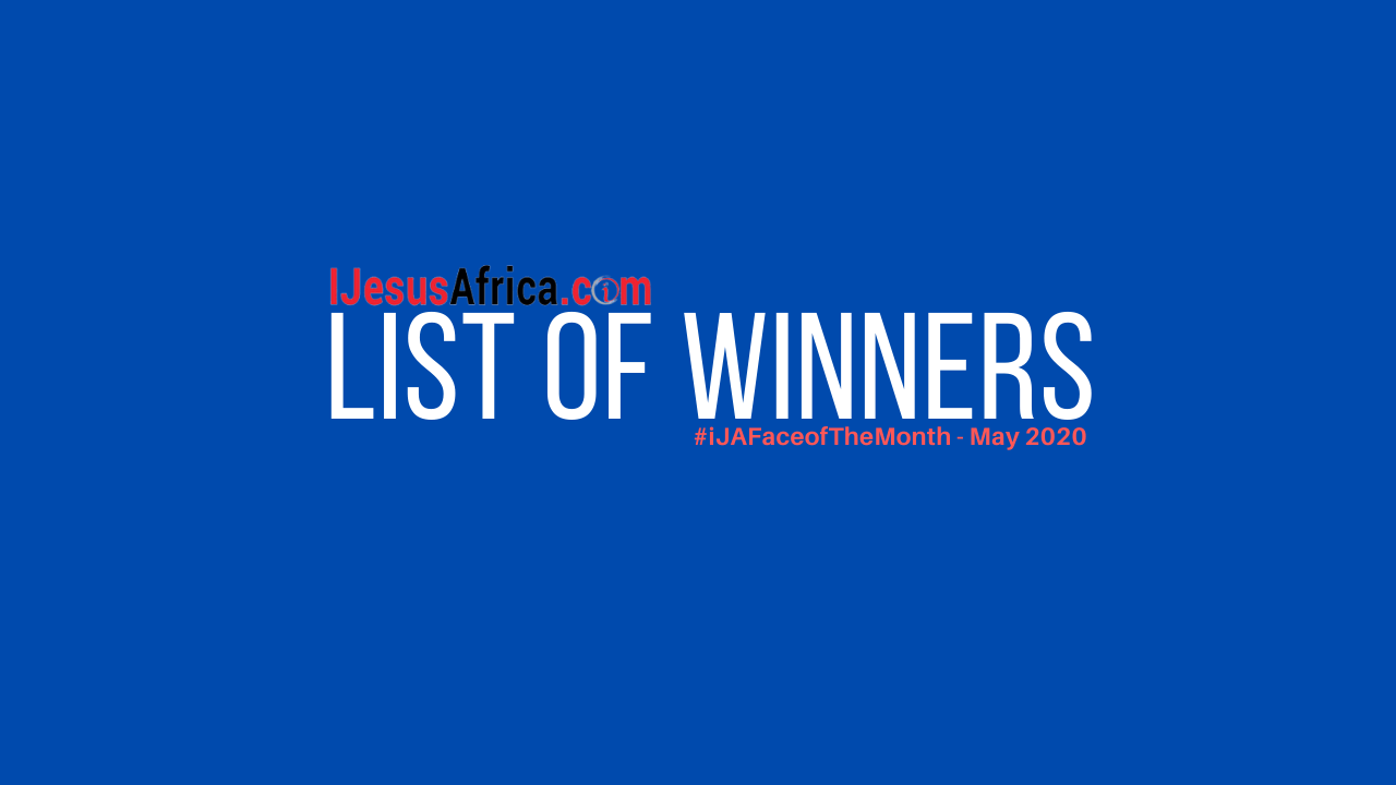 Results_ Official List Of Winners For iJAFaceofTheMonth Contest - May 2020