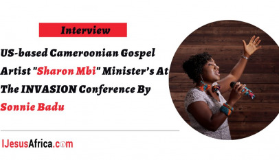 US-based Cameroonian Gospel Artist Sharon Mbi Ministers At The INVASION Conference By Sonnie Badu-main